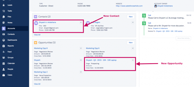 How do I convert a lead in Salesforce – Lightning Experience ?