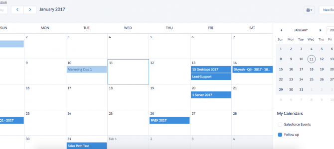 How to create your Custom Calendar in Lightning Experience?