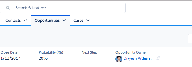 How to modify Opportunities highlights panel in Lightning Experience?