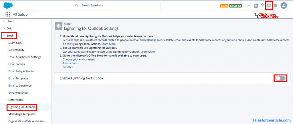 Lightning for Outlook