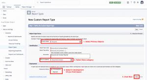 Create Report Type